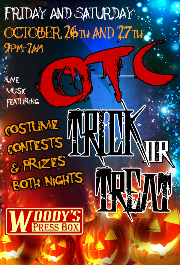 Woody's Halloween Event