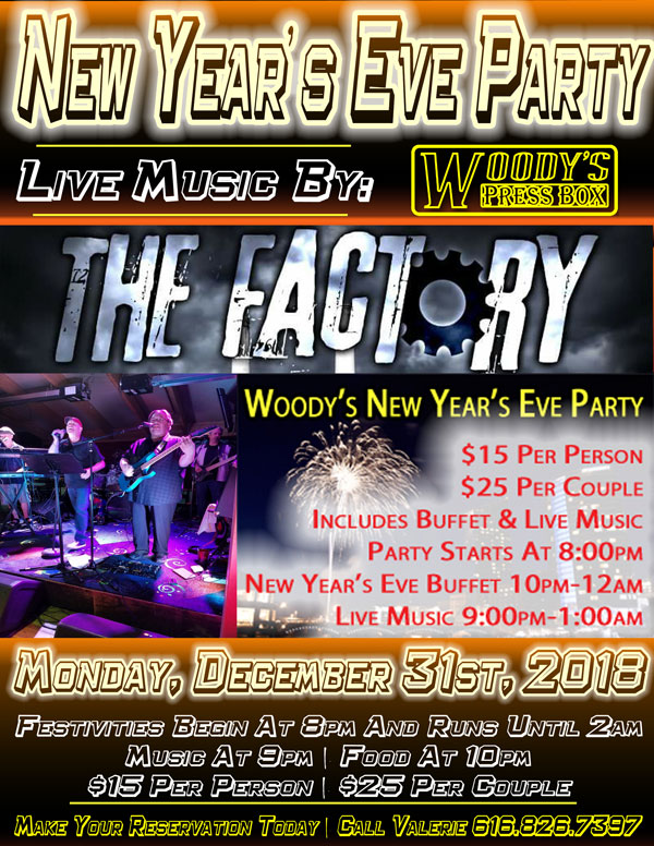 Woody's New Year's Eve Party